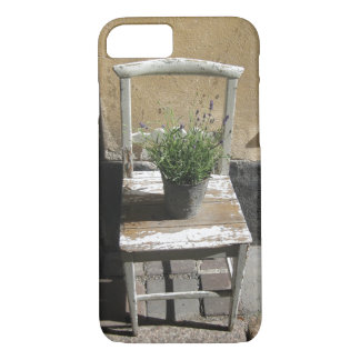 Rustic Country Chic White Cottage Chair iPhone 7 Case