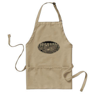 Rustic Country Chicken Charm Standard Apron