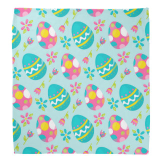 Rustic Country Easter Bunny Holiday Spring Bandana