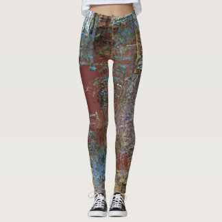 Rustic Country Palette Leggings