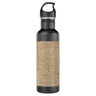 Rustic Country Vintage Burlap 710 Ml Water Bottle