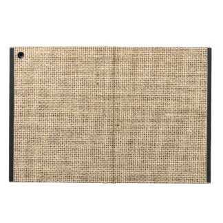 Rustic Country Vintage Burlap Case For iPad Air