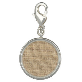 Rustic Country Vintage Burlap Charms