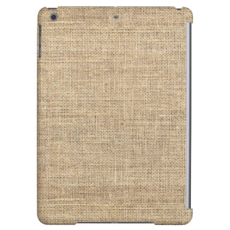 Rustic Country Vintage Burlap Cover For iPad Air