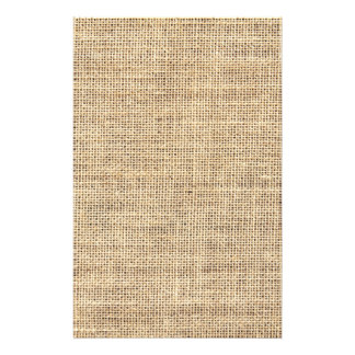 Rustic Country Vintage Burlap Flyer