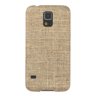 Rustic Country Vintage Burlap Galaxy S5 Case
