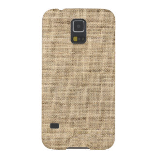 Rustic Country Vintage Burlap Galaxy S5 Covers