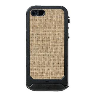 Rustic Country Vintage Burlap Incipio ATLAS ID™ iPhone 5 Case