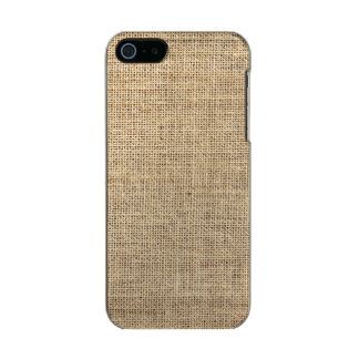 Rustic Country Vintage Burlap Incipio Feather® Shine iPhone 5 Case