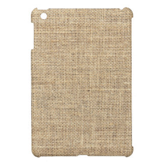 Rustic Country Vintage Burlap iPad Mini Covers