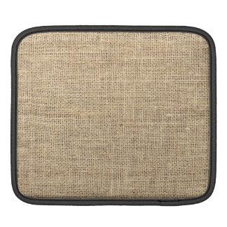 Rustic Country Vintage Burlap iPad Sleeve