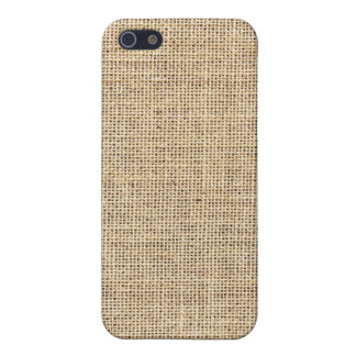 Rustic Country Vintage Burlap iPhone 5 Cover