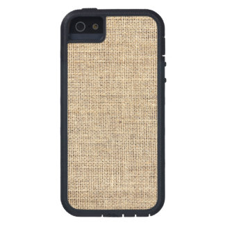 Rustic Country Vintage Burlap iPhone 5 Covers