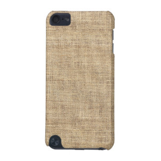 Rustic Country Vintage Burlap iPod Touch (5th Generation) Cover