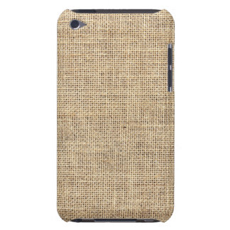 Rustic Country Vintage Burlap iPod Touch Covers