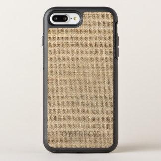 Rustic Country Vintage Burlap OtterBox Symmetry iPhone 8 Plus/7 Plus Case