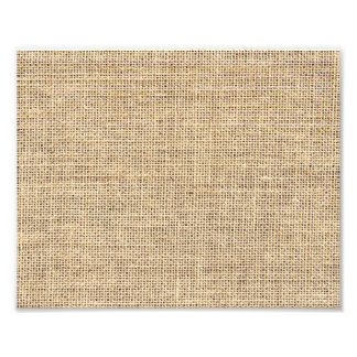 Rustic Country Vintage Burlap Photo Print