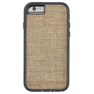 Rustic Country Vintage Burlap Tough Xtreme iPhone 6 Case