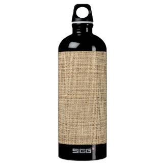 Rustic Country Vintage Burlap Water Bottle