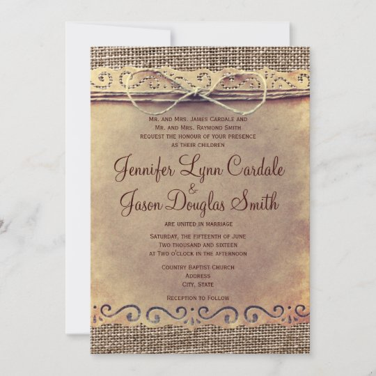 Cheap Online Wedding Save The Date Card Chalk Burlap and Lace Wedding Save The Date Template Save The Date Template with Photo