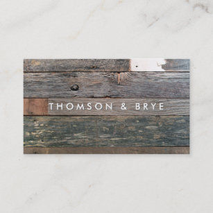 Wooden business cards profile cards zazzle ca rustic country vintage reclaimed wood nature business card reheart Image collections