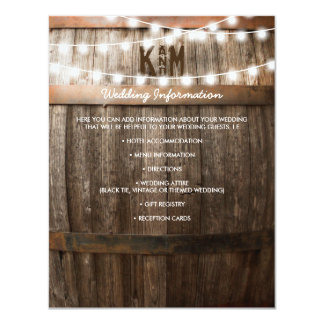 """RUSTIC COUNTRY WEDDING DETAILS 