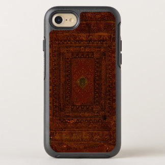 Rustic Covers Engraved Leather OtterBox Symmetry iPhone 7 Case