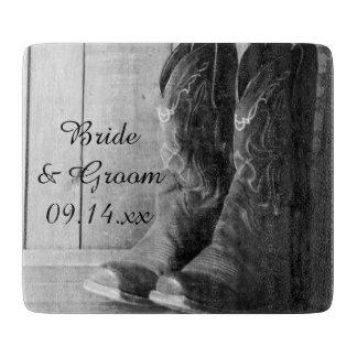 Rustic Cowboy Boots Western Wedding Boards
