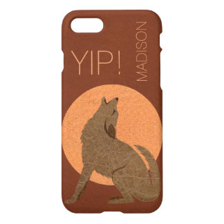 Rustic Coyote Southwest Faux Leather iphone7 YIP iPhone 7 Case