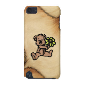 Rustic Daisy Bear Design iPod Touch (5th Generation) Case
