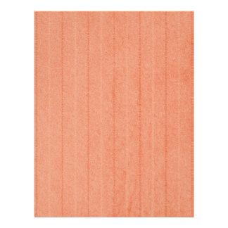 Rustic Dark Salmon Letterhead