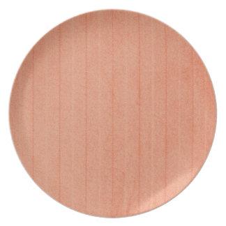 Rustic Dark Salmon Plate