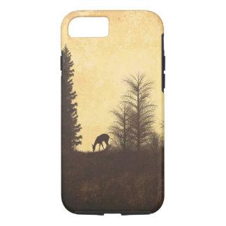 Rustic Deer in Trees Nature iPhone 7 Case