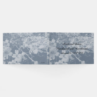 Rustic Dogwood Blossom Wedding Handfasting Grays Guest Book