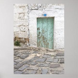 Rustic Door No. 8 Poster