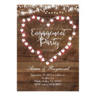Rustic Engagement Party Invitation