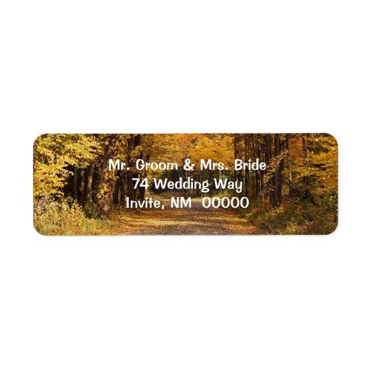 Rustic Fall Weddings Invitations Envelopes Mail