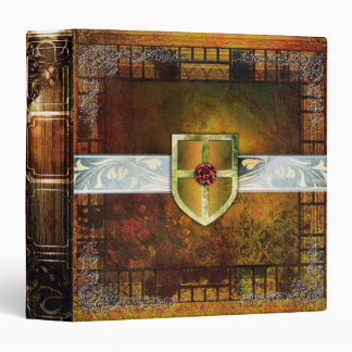 Rustic Fantasy Ancient Tome Magic Book 3 Ring Binder
