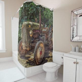 Rustic farm tractor