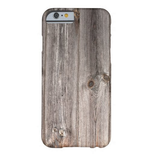 Rustic Faux Wood Texture iPhone 6 Case