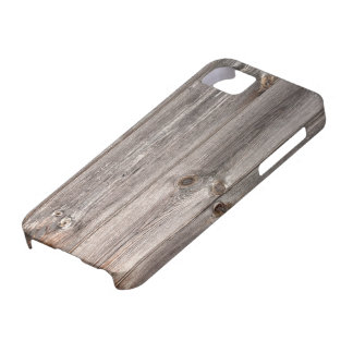 Rustic Faux Wood Texture iPhone 5 Cover