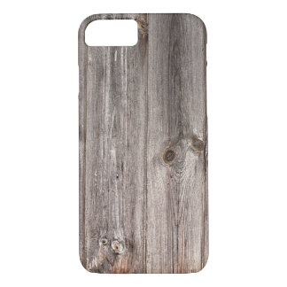 Rustic Faux Wood Texture iPhone 7 Case