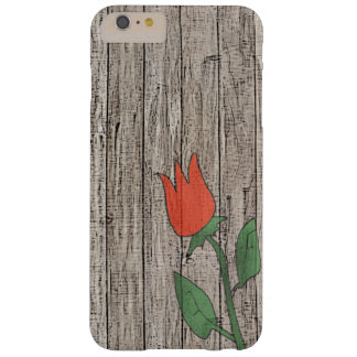 Rustic Fence Red Tulip Case-Mate iPhone 6/6s
