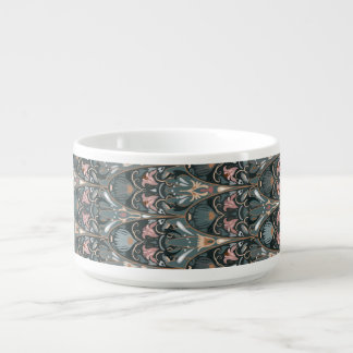Rustic floral luxury squama military color pattern bowl