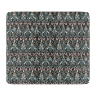Rustic floral luxury squama military color pattern cutting board