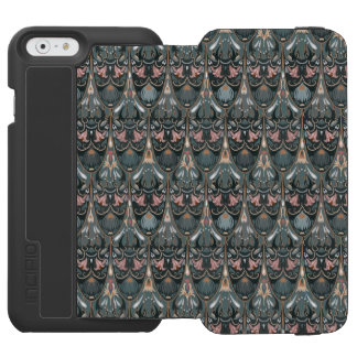 Rustic floral luxury squama military color pattern incipio watson™ iPhone 6 wallet case