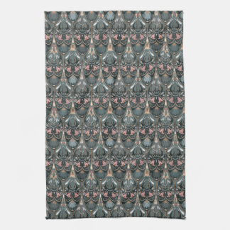 Rustic floral luxury squama military color pattern kitchen towel