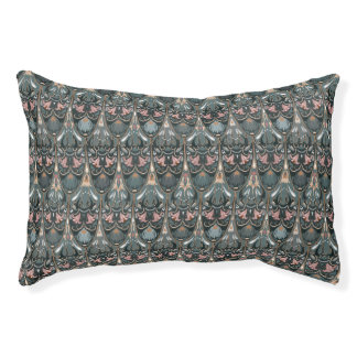 Rustic floral luxury squama military color pattern pet bed