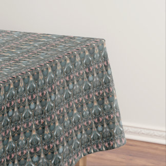 Rustic floral luxury squama military color pattern tablecloth