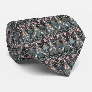 Rustic floral luxury squama military color pattern tie